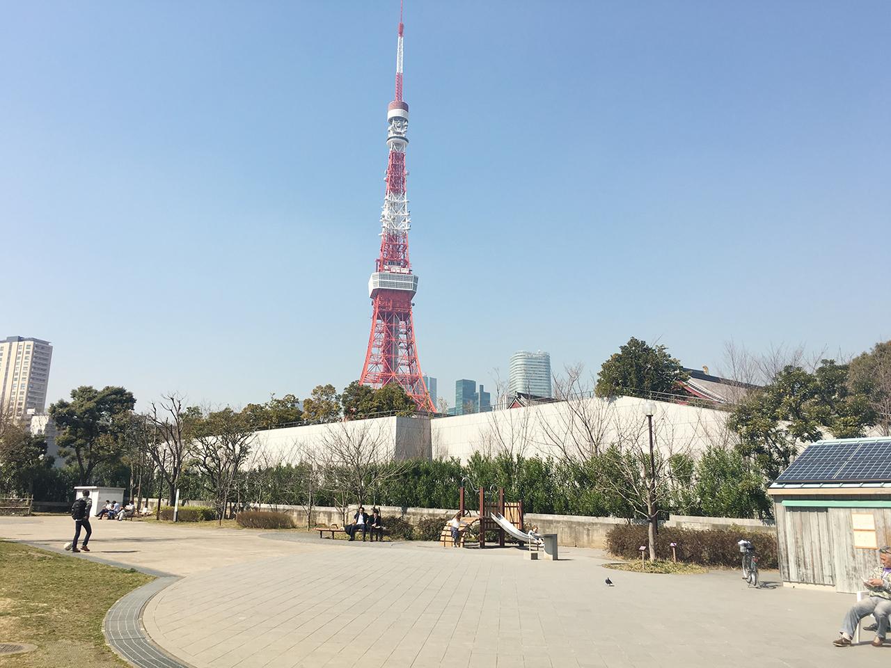 東京の芝公園