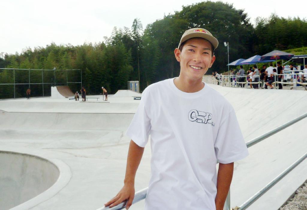 スノボ平岡卓が地元奈良にプロデュース、御所スケートボードパーク