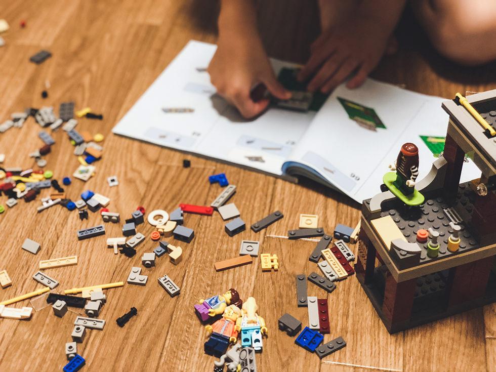 【LEGO モジュール 2018】レゴブロックのスケボーハウスを作ってみた。