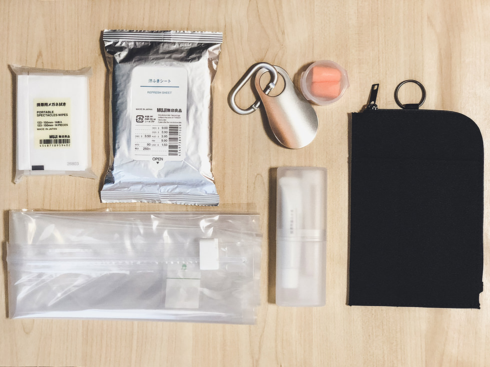 旅や海外旅行に。無印良品の『トラベルグッズ』RESKY の旅行バッグの中身