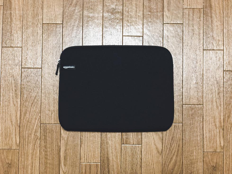 Amazonベーシックのノートパソコン ケース スリーブ 13.3インチ NC1303152