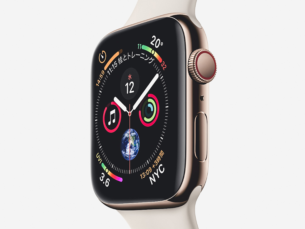 Apple Watch 4 新しい文字盤
