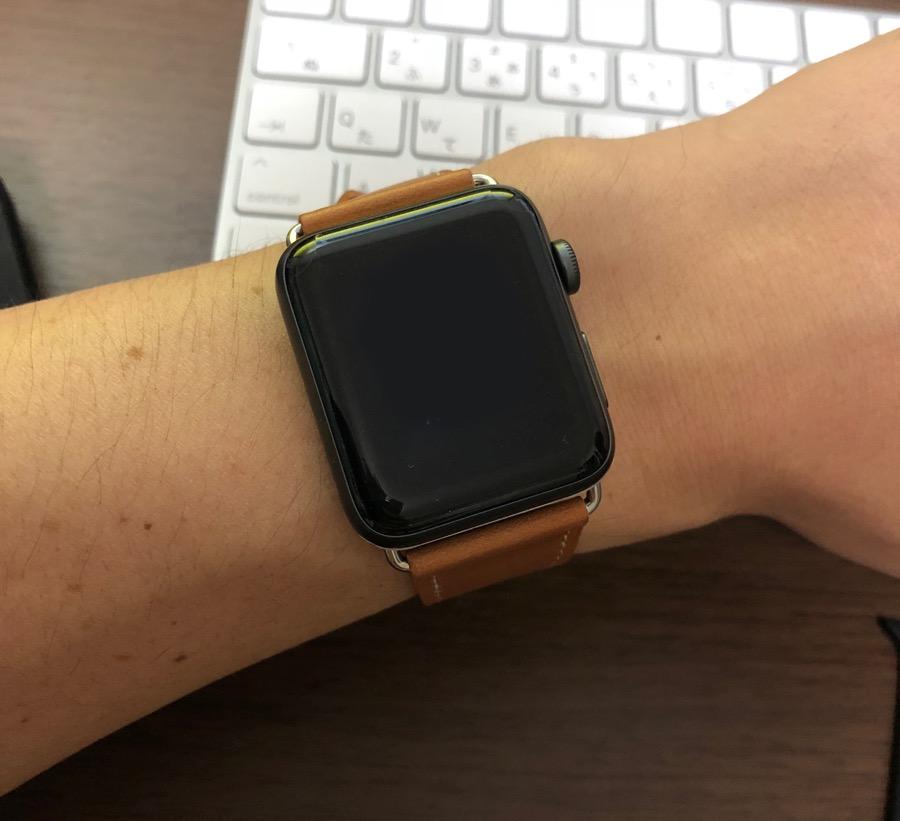 BRG コンパチブル apple watch 本革バンド
