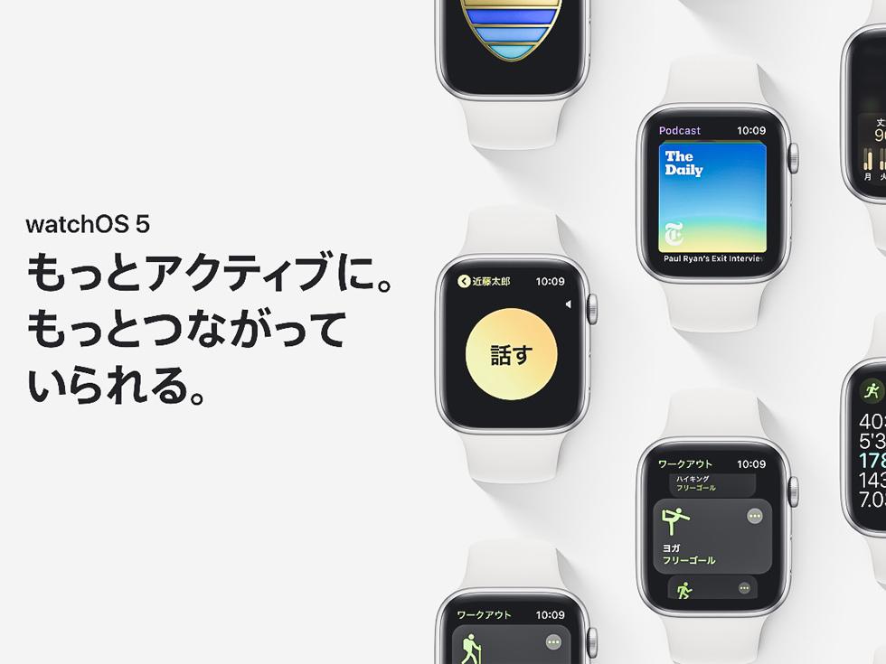 watchOS 5 の新機能まとめ Apple Watch の Siri がより賢くなった。