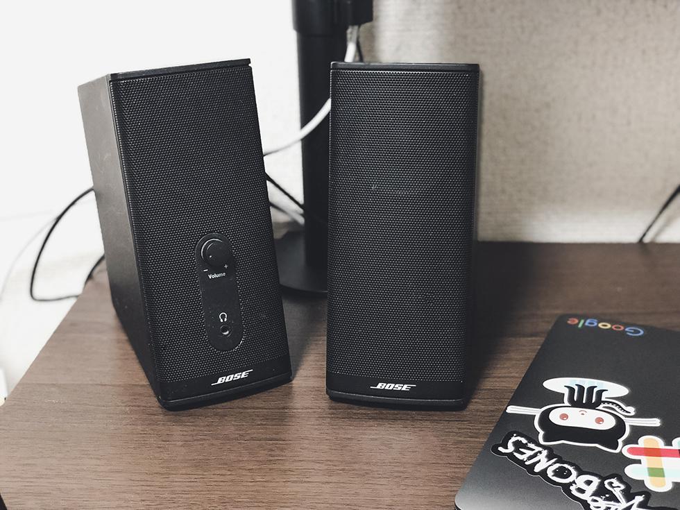 Bose だけど格安!パソコンスピーカーで映画や音楽を楽しむ『PC用スピーカーはこれ一択』