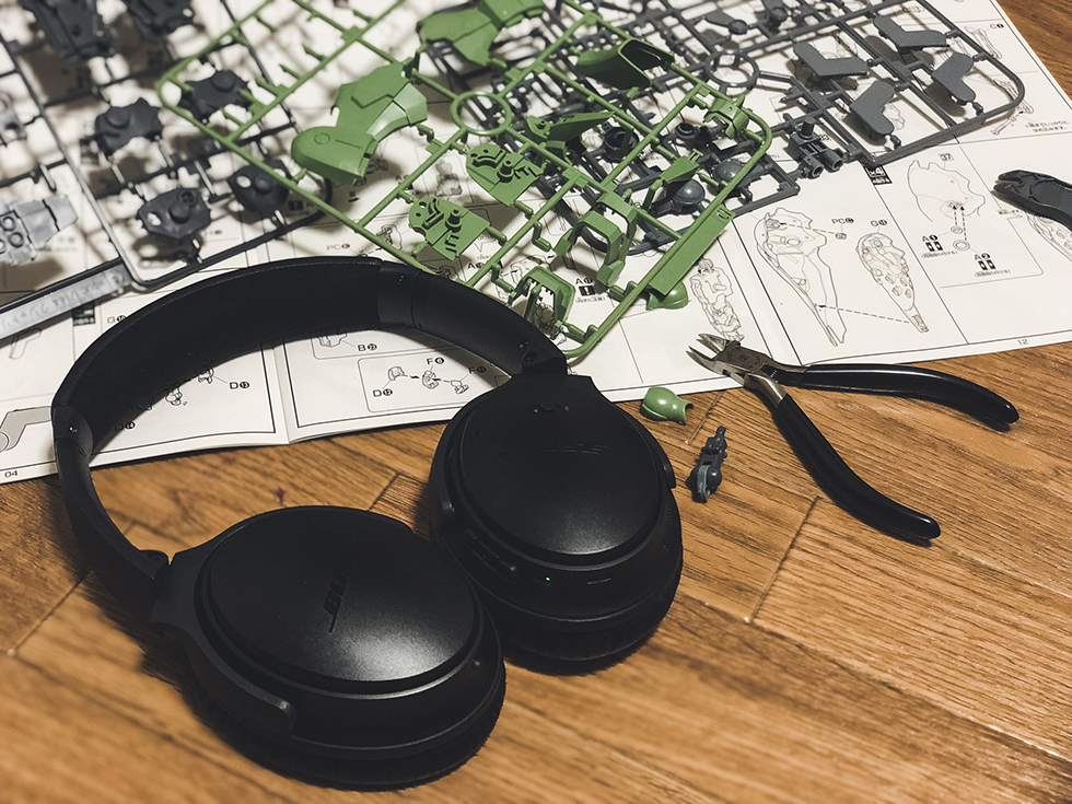 好きなコトに没頭できるBoseのワイヤレスノイズキャンセリングヘッドホン『QC35 II』