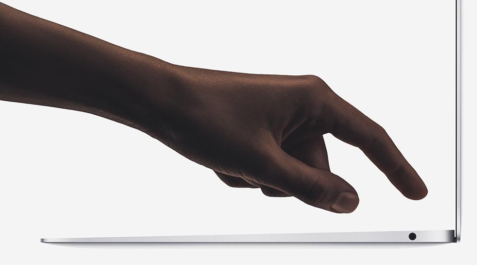 新搭載の指紋認証 Touch ID