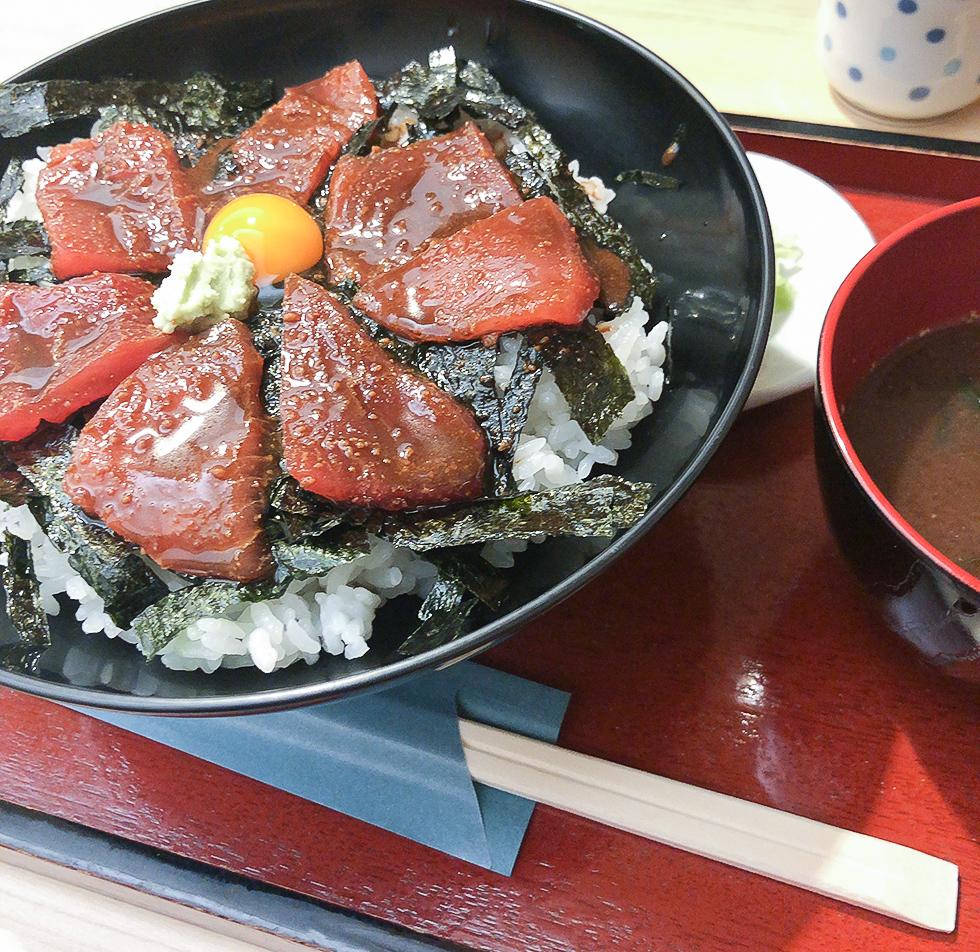 魚重の鉄火丼