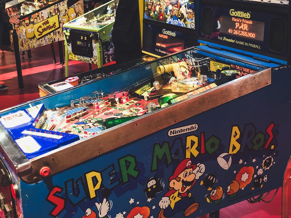 スーパーマリオのピンボールマシン2
