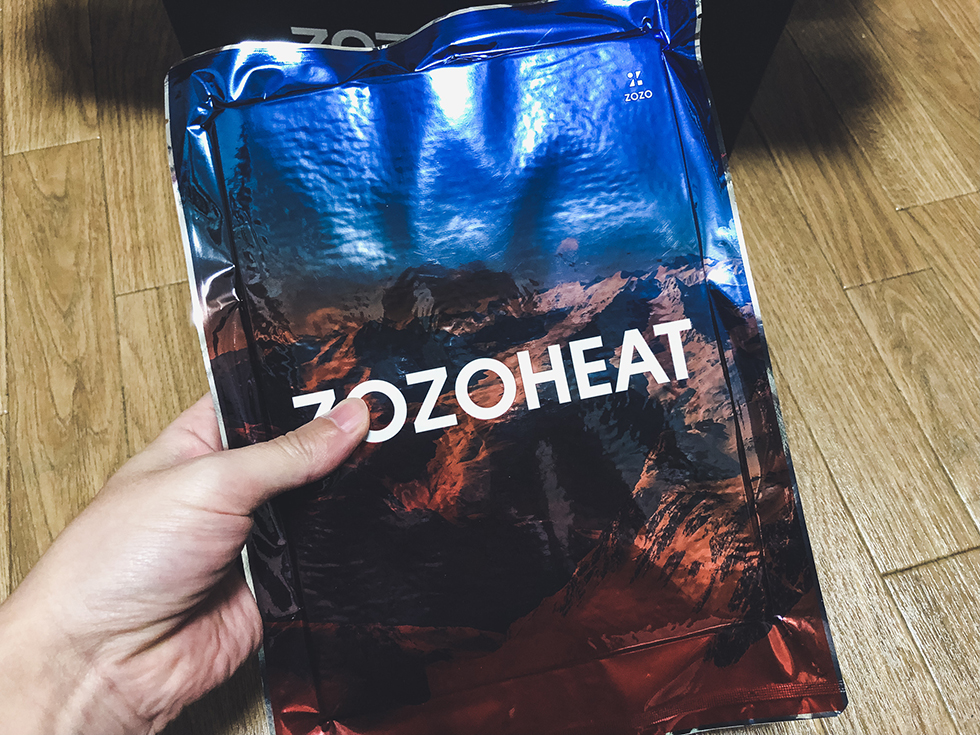 【ゾゾヒートをレビュー】『ZOZOHEAT』ZOZOのヒートテックを買ったのだけど評判通り寒い冬の必須アイテムになりそうだ!
