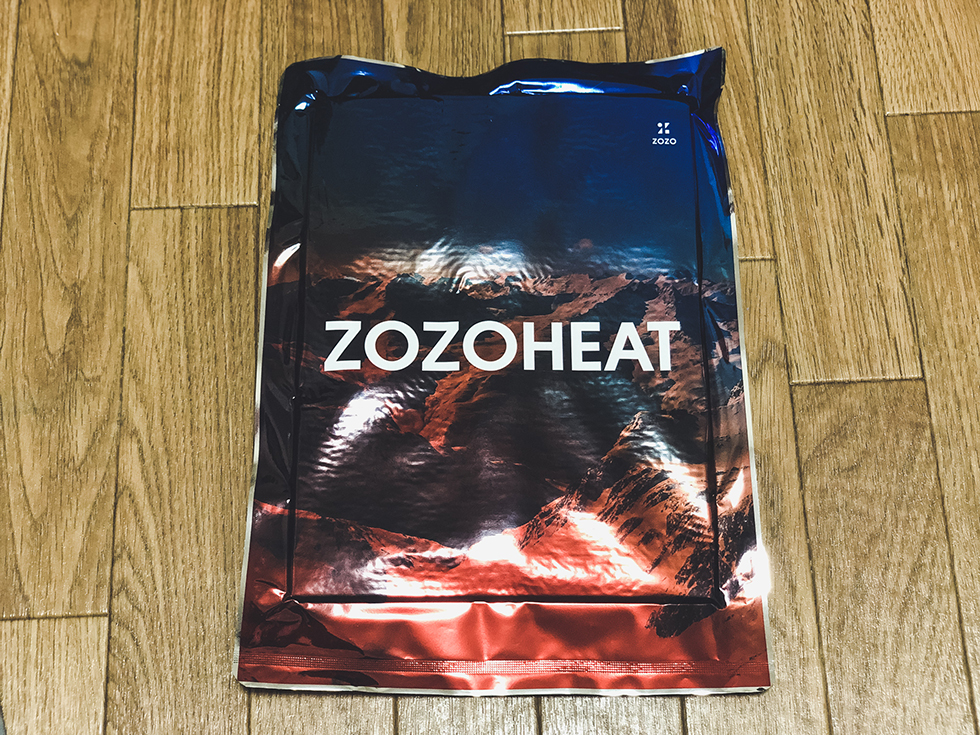 ZOZOTOWNで買ったZOZOHEAT(ゾゾヒート)
