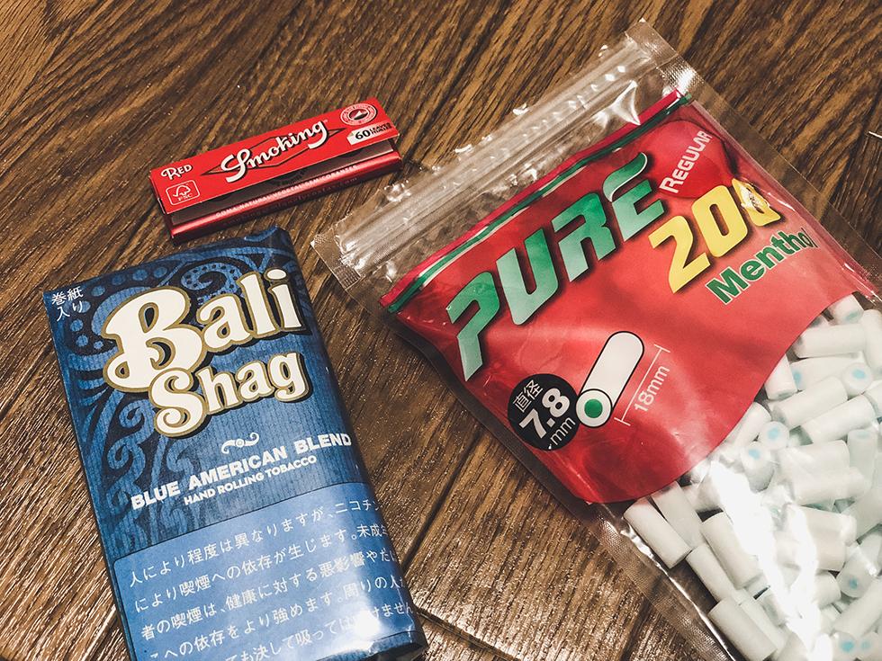 手巻きタバコ初心者が買うべき3つ