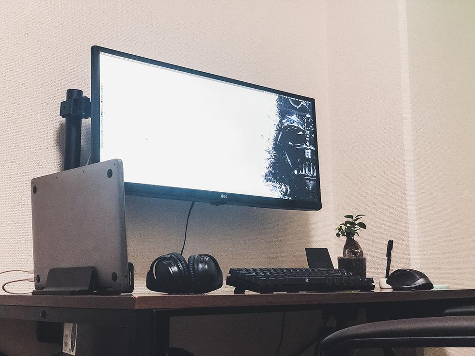 MacBook Pro をデスクトップ化して使いたい人へ【やり方と周辺機器】