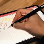 Apple Pencil 2(第2世代)のグリップを握りやすくするアップルペンシルケース【iPad Pro】