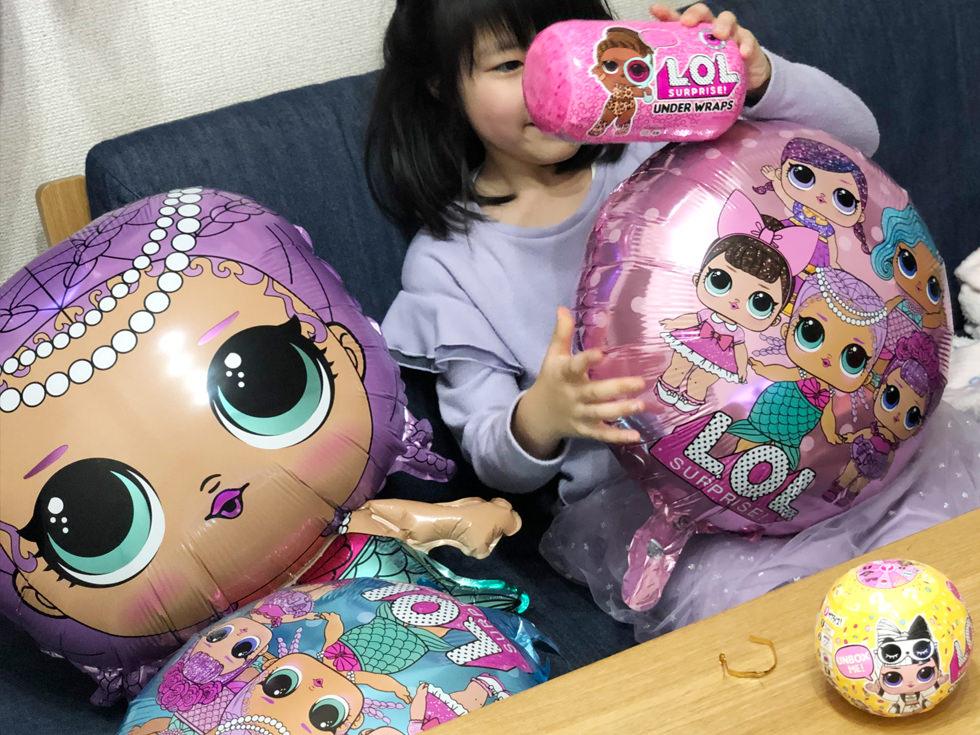 【プレゼント】LOL サプライズで娘の誕生日にサプライズ【子供の誕生日アイデア】