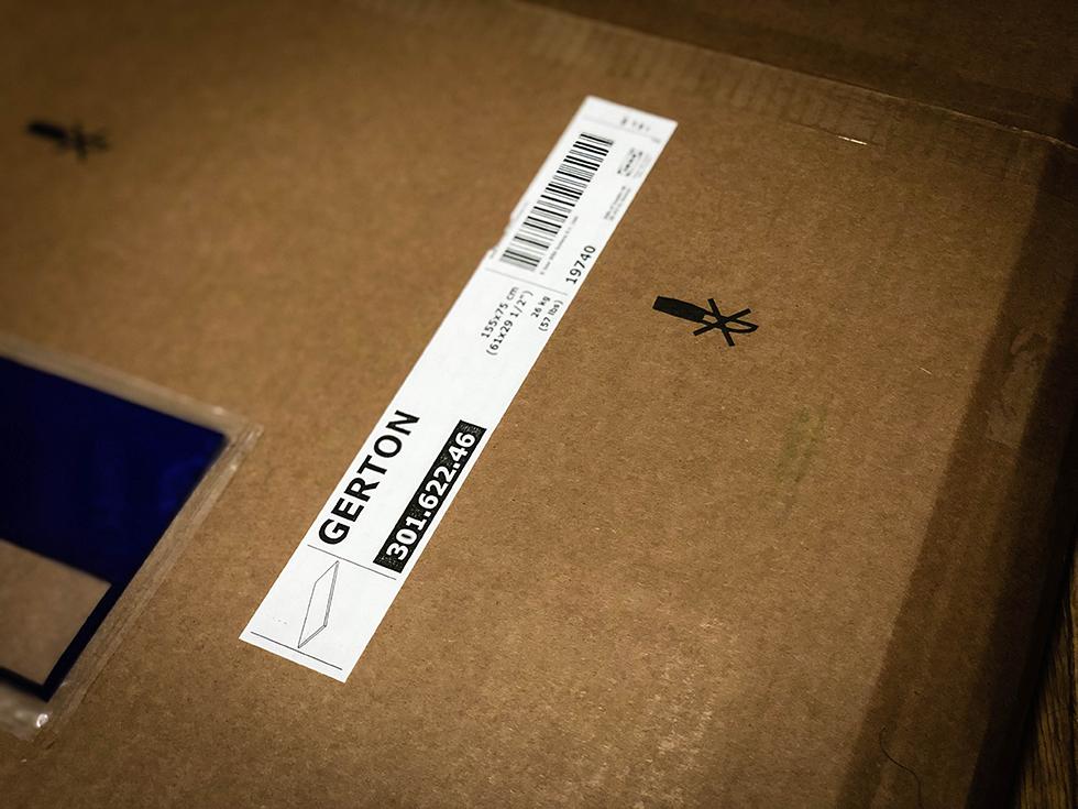IKEA デスクの天板 GERTON (イェルトン)