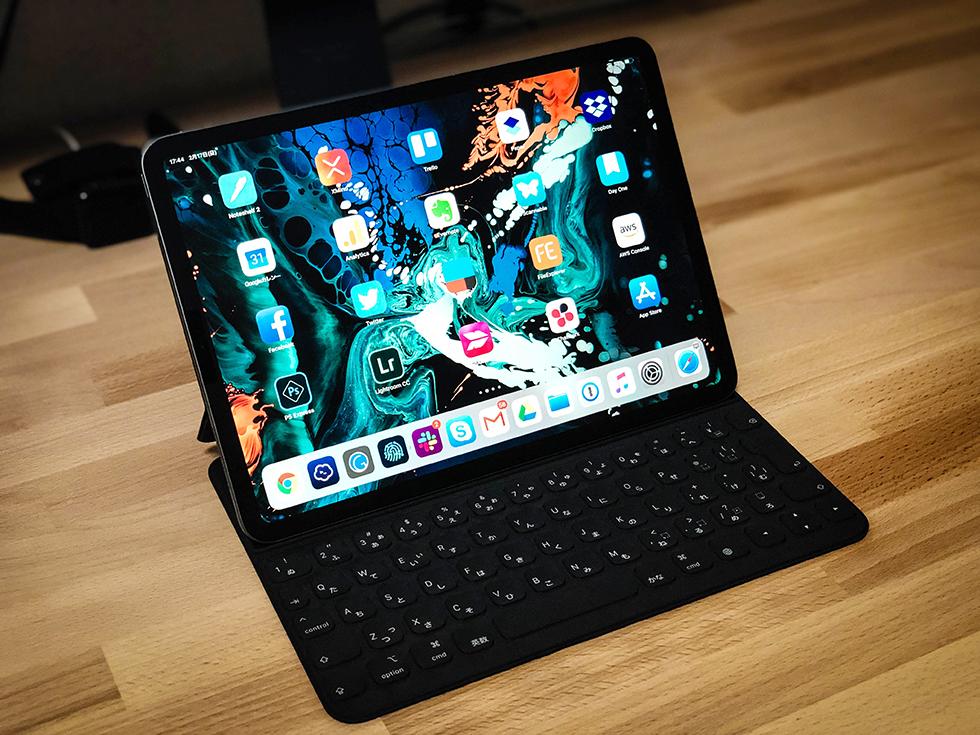 カバンの中身のひとつ iPad Pro