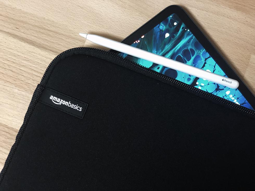【レビュー】iPad Pro 11インチのスリーブケースは amazon ベーシックの11.6インチ一択。