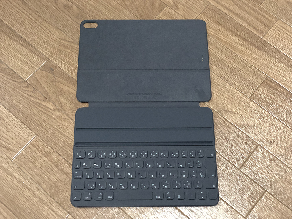 Smart Keyboard Folioの全体像