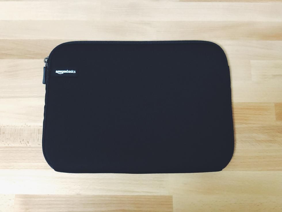 iPad Pro 2018 11インチモデルにおすすめの amazon ベーシックのスリーブケース