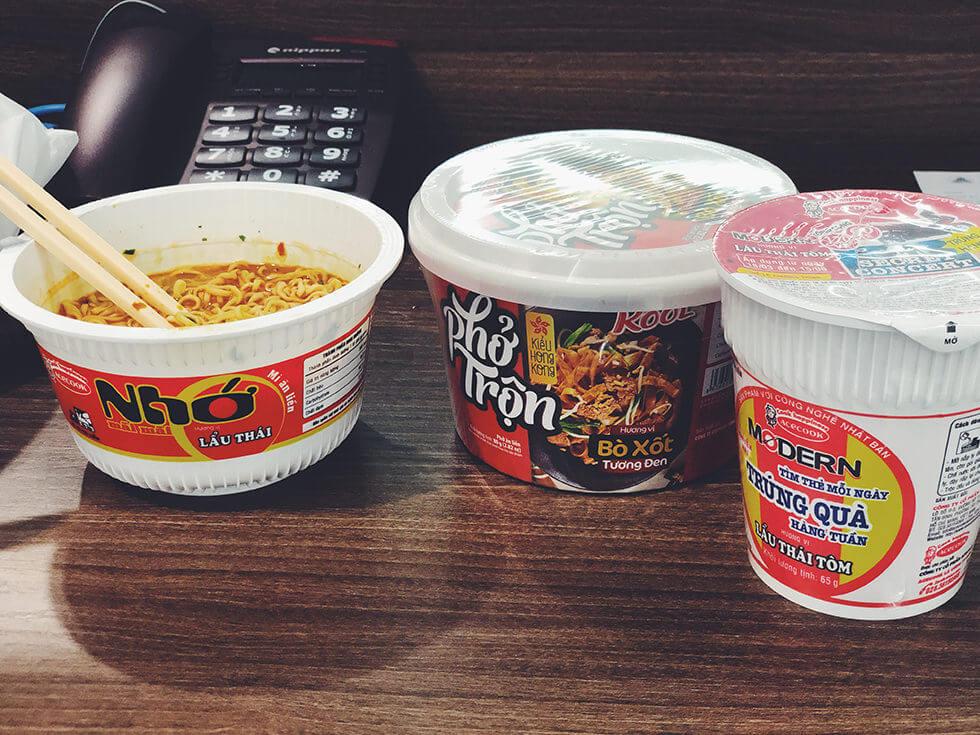 変わり種なベトナムのカップ麺をランキングしてみた【カップラーメン】