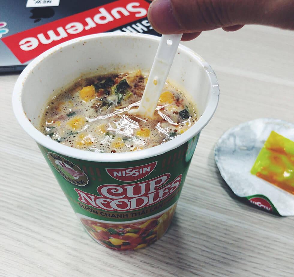 変わり種なベトナムのカップ麺をランキング第2位