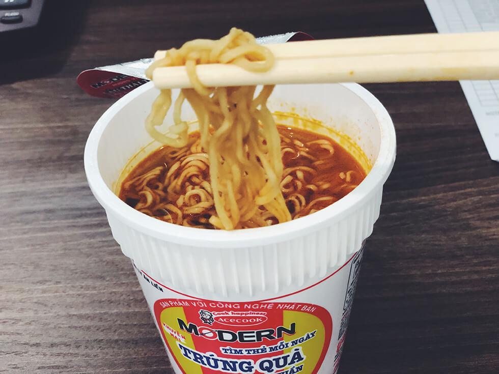 変わり種なベトナムのカップ麺をランキング第5位