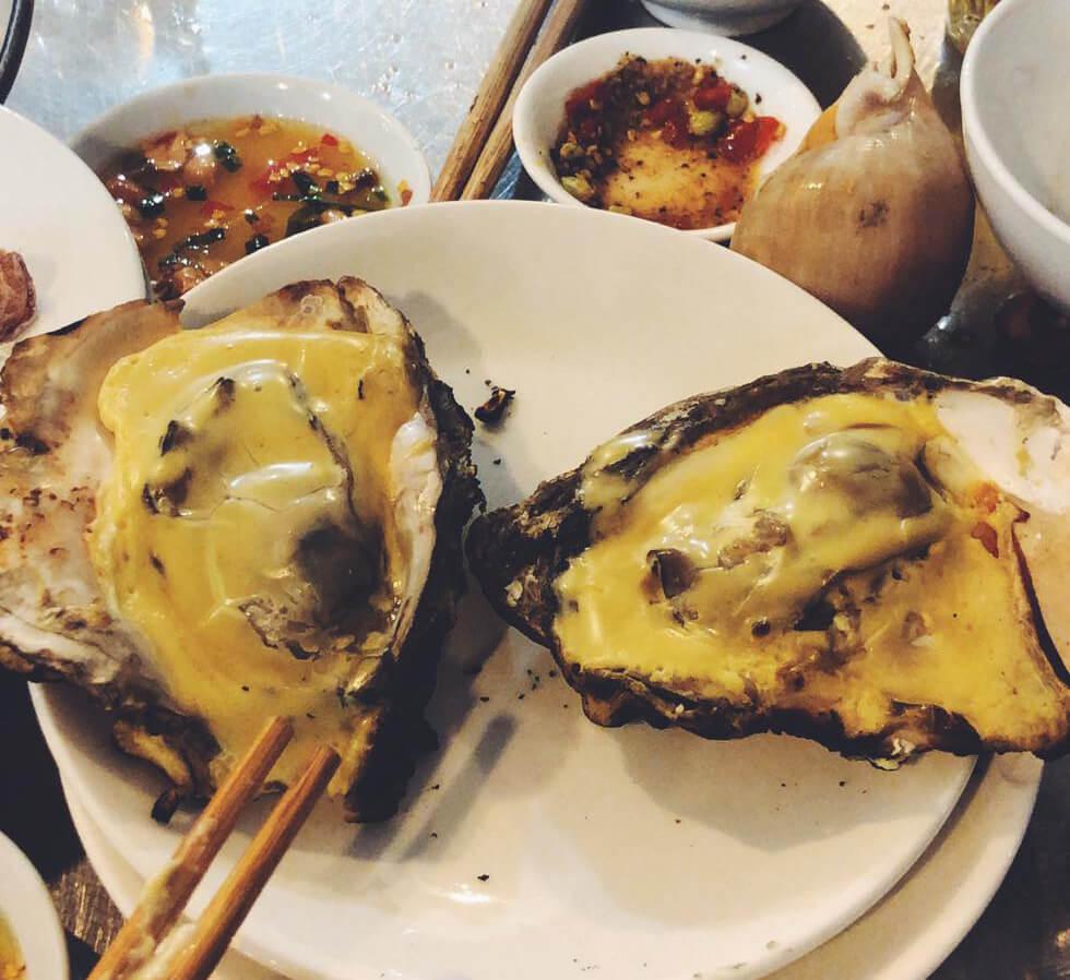 ベトナムの貝料理