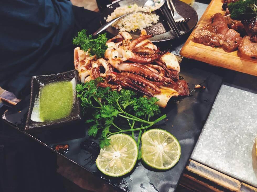 ベトナムのイカ料理
