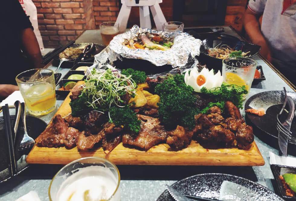 ベトナムの肉料理