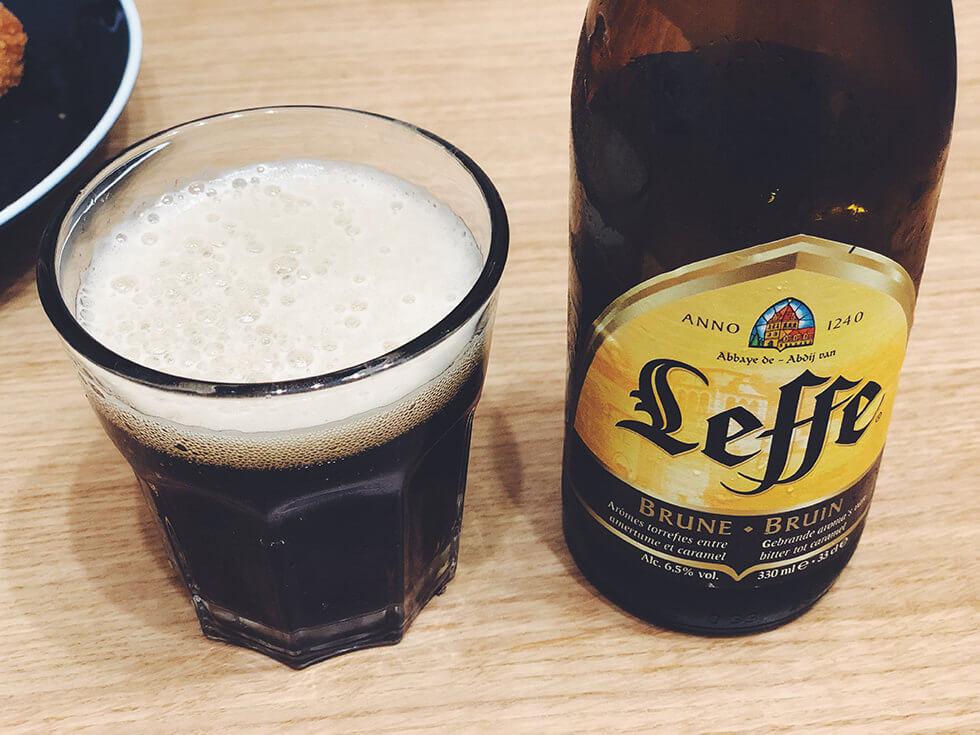 ベルギー産エールビール Leffe Brown(レフ・ブラウン)