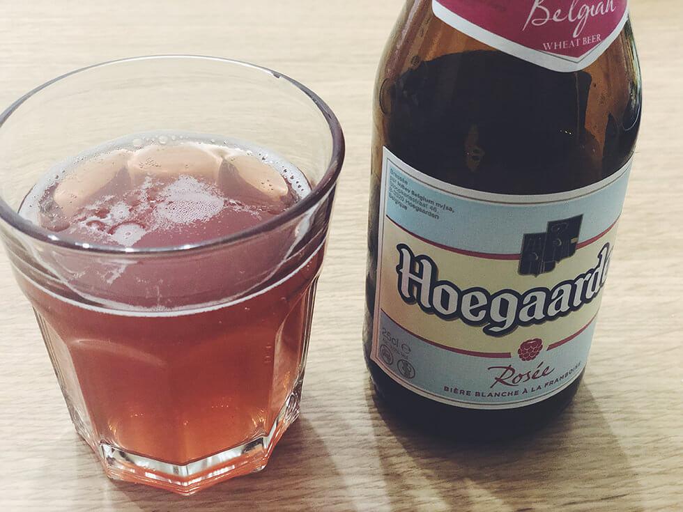 ベルギー産エールビール Hoegaarden Rosee(ヒューガルデン・ロゼ)