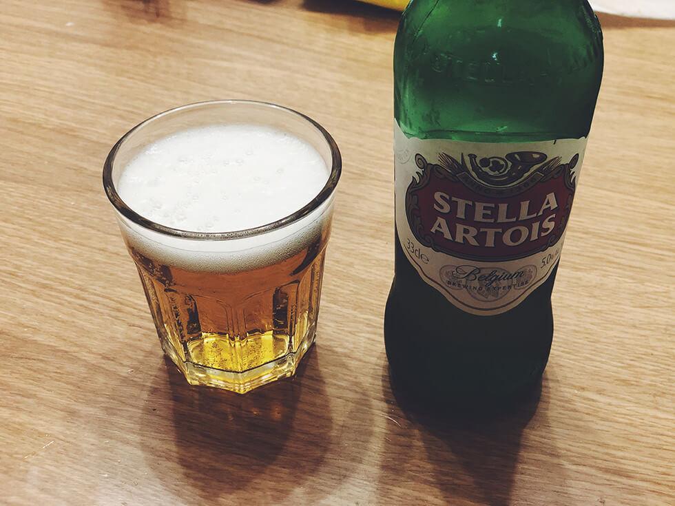 ベルギー産ラガービール Stella Artois(ステラ・アルトワ)