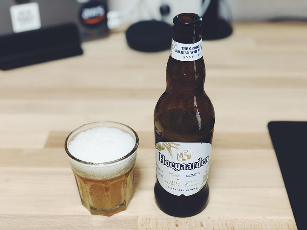 ベルギー産エールビール「ヒューガルデン・ホワイト」
