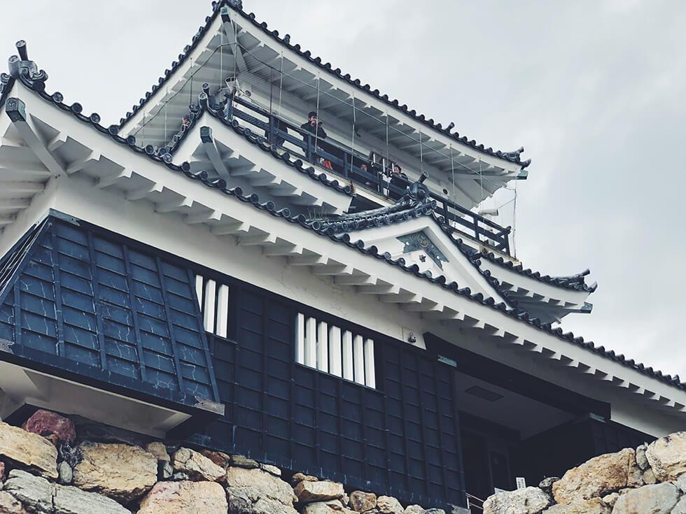 浜松城を横から