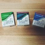 プルームエス たばこスティックの味メンソールとレギュラー全4種類【新フレーバー】