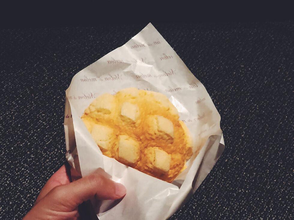 浜松駅近くにある焼きたてで美味しいチョコメロンパン