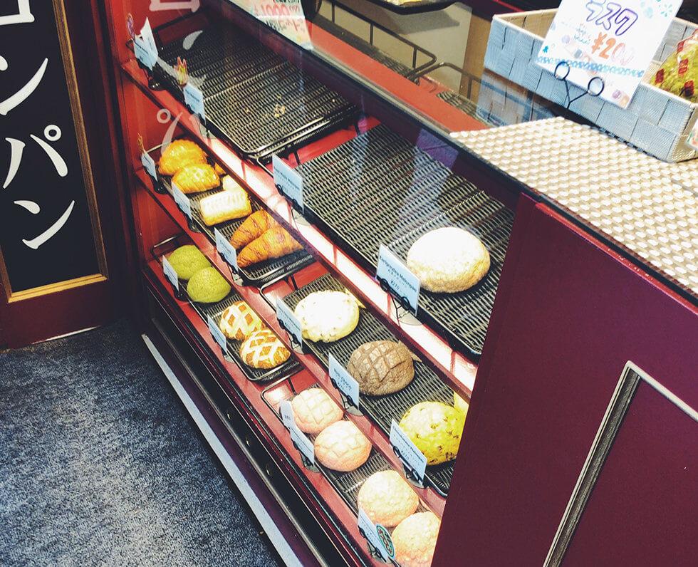 浜松駅近くにある焼きたてで美味しいメロンパン