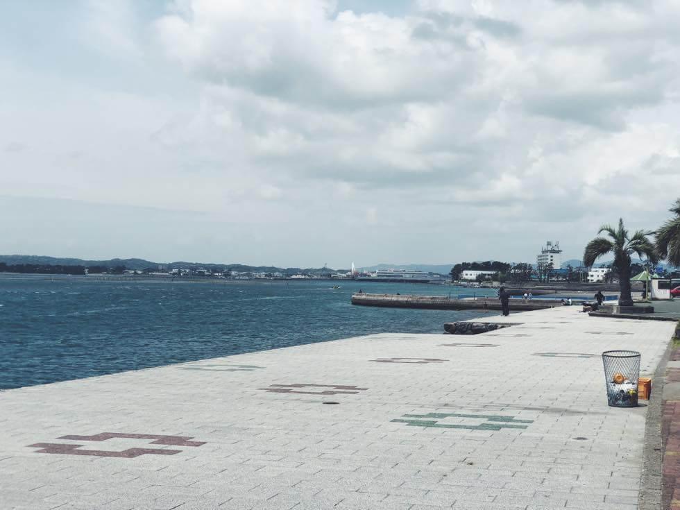 弁天島海浜公園の雰囲気2