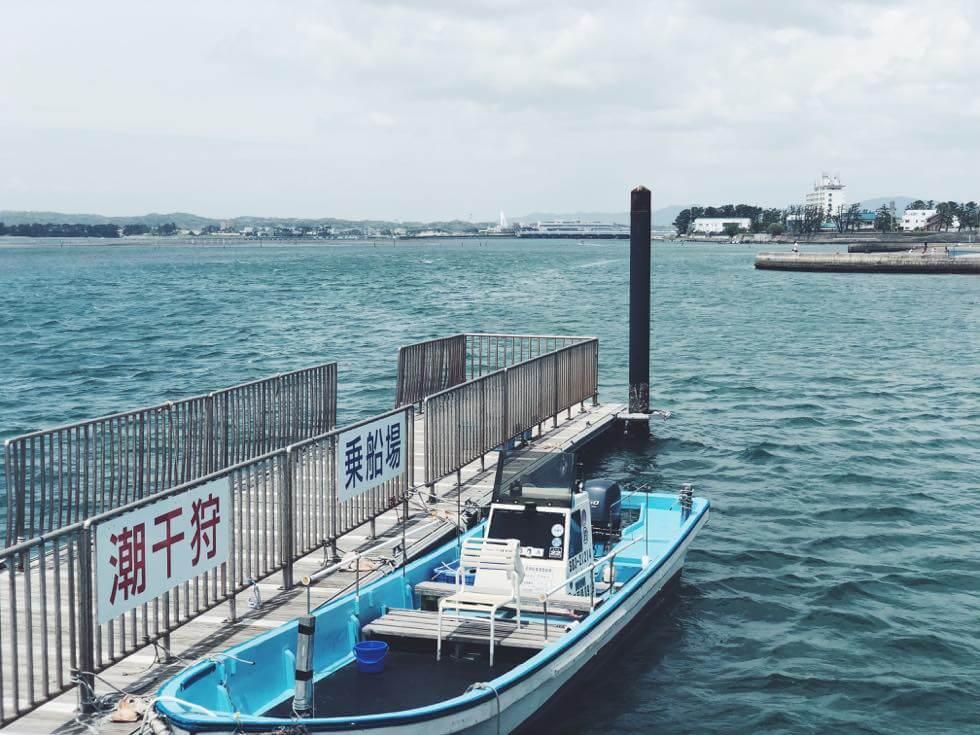 弁天島の渡し船