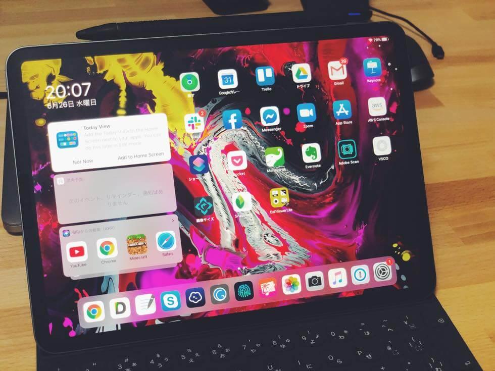 iPad 専用 iPad OS ベータ版を搭載したiPad Pro