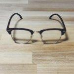【2019最新】ユニクロのブルーライトカットメガネがオシャレで普段使いから仕事にも使えてコスパ高すぎるのでレビュー【ブロウクリアサングラス】