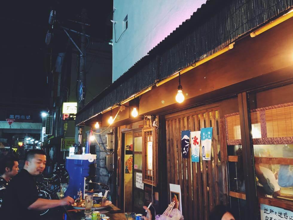 個性派人気立ち飲み Super Jap(スーパージャップ)の店外その1