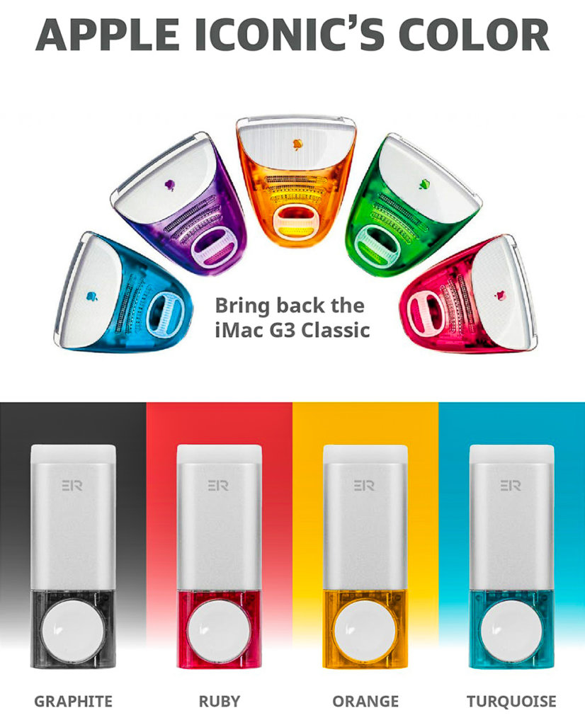 G3 iMac の20周年を記念されたデザイン