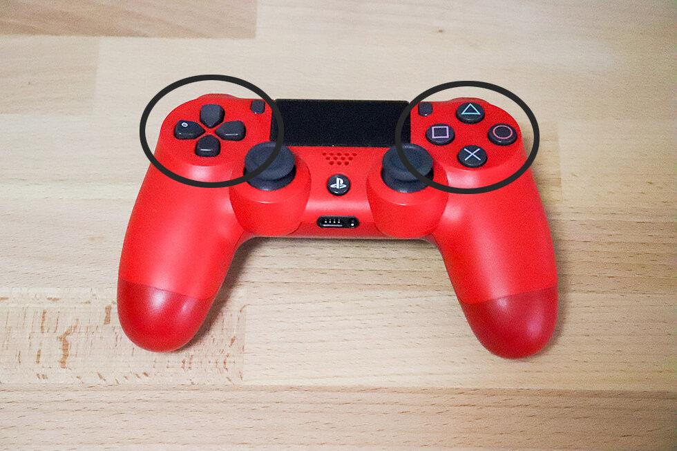 PS4 ワイヤレスゲームコントローラー(DUALSHOCK4)の見分け方