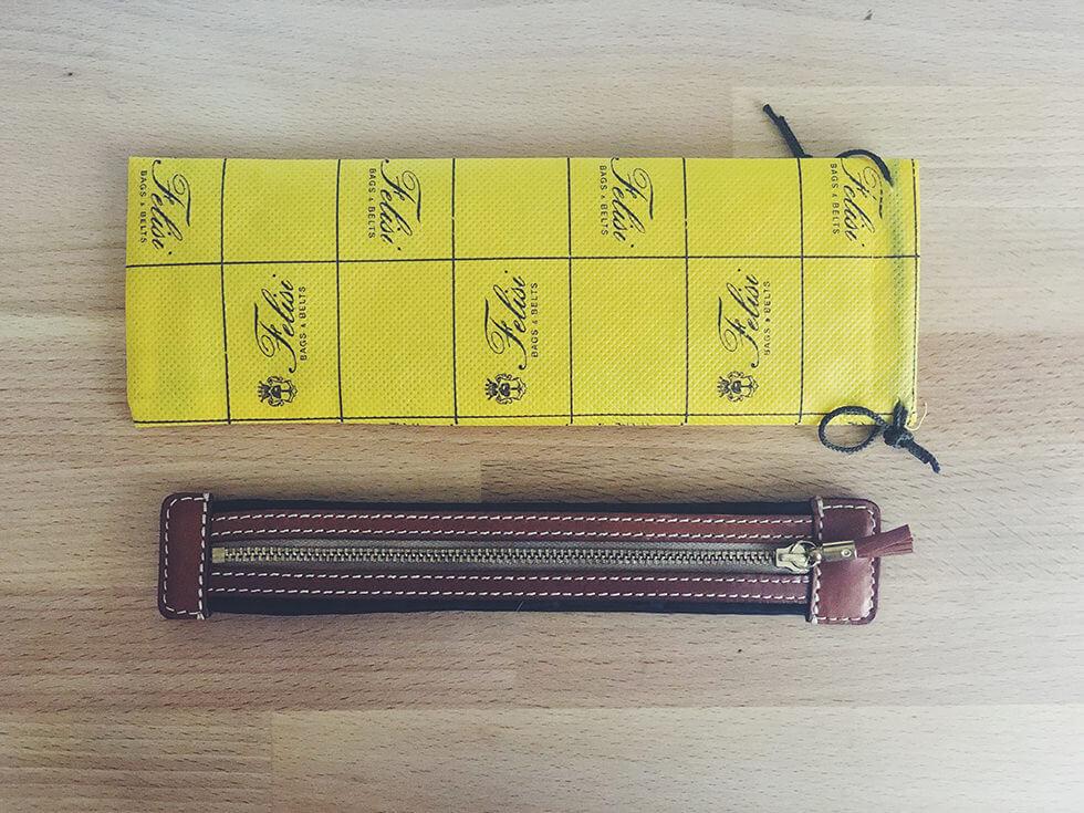 イタリアの鞄ブランド Felisi(フェリージ)のプルームテックプラス・スリムケース