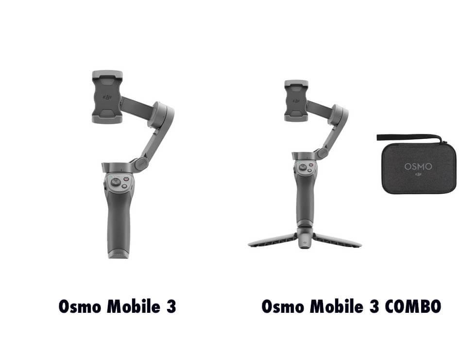 Osmo Mobile 3とOsmo Mobile 3 コンボの違い