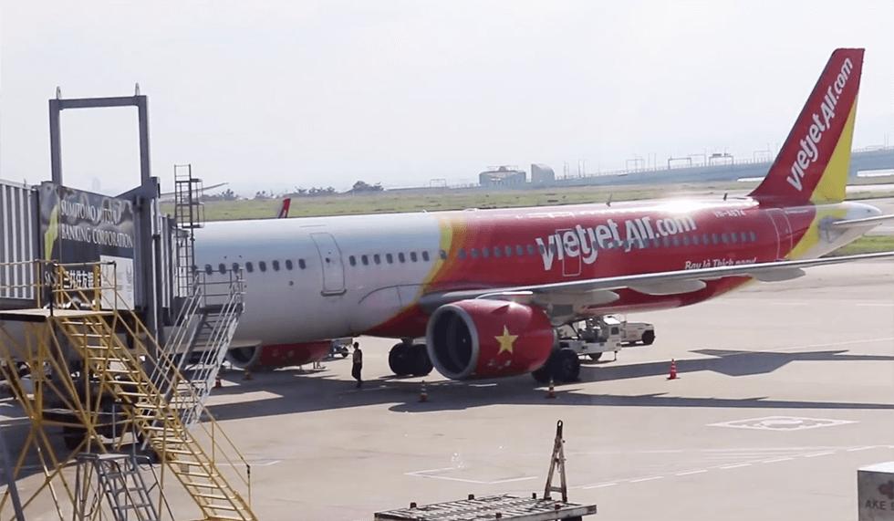 タンソンニャット空港までの直行便ベトジェットエア(Vietjet Air)