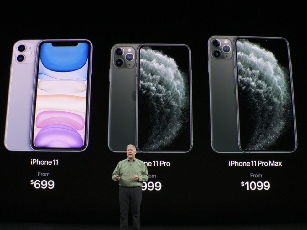 iPhone 11・iPhone 11 Pro ・iPhone 11 Pro Maxの3機種の価格とスペック【Apple発表会内容】