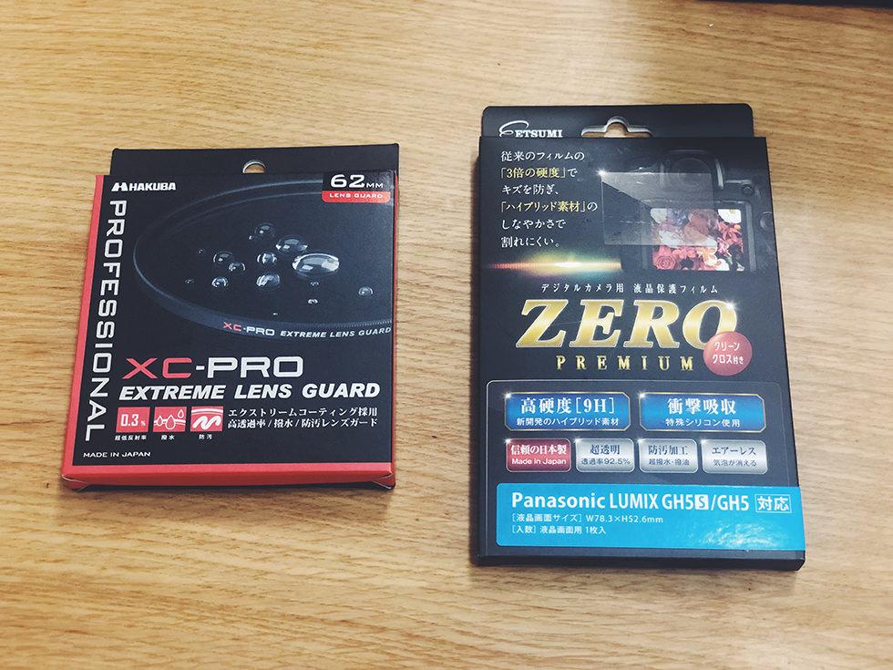 レンズ保護フィルターと液晶保護フィルムがミラーレスカメラ購入して必要だと思ったので付け方も紹介【カメラ保護】